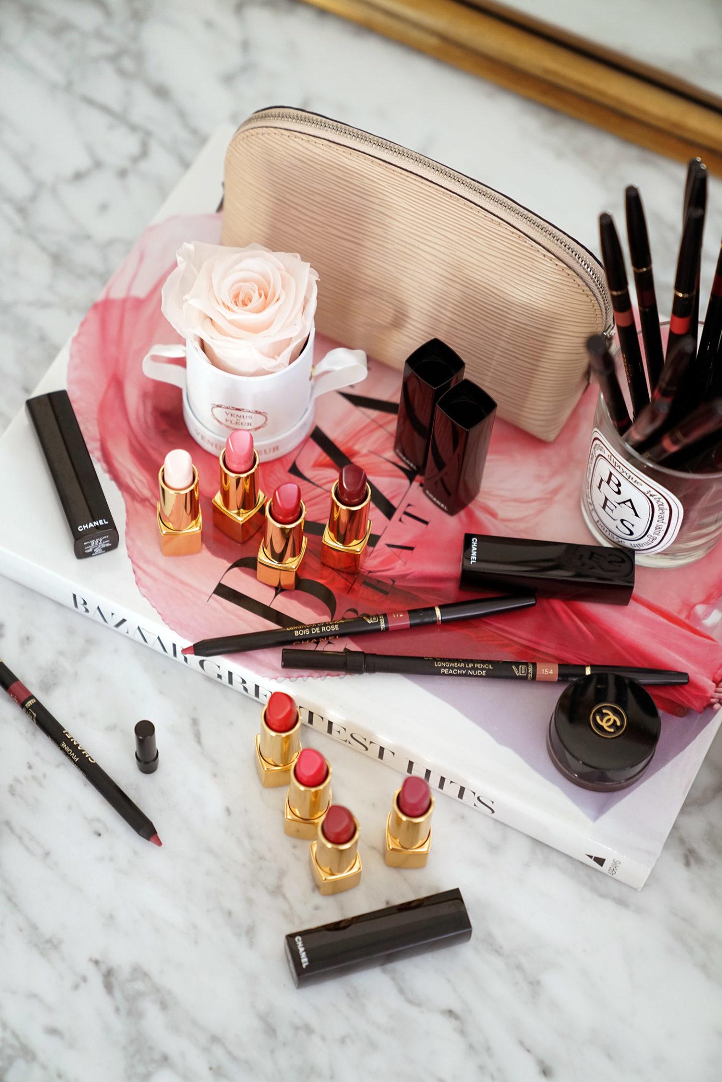 Critique de Chanel Rouge Allure Camelia et du nouveau crayon à lèvres