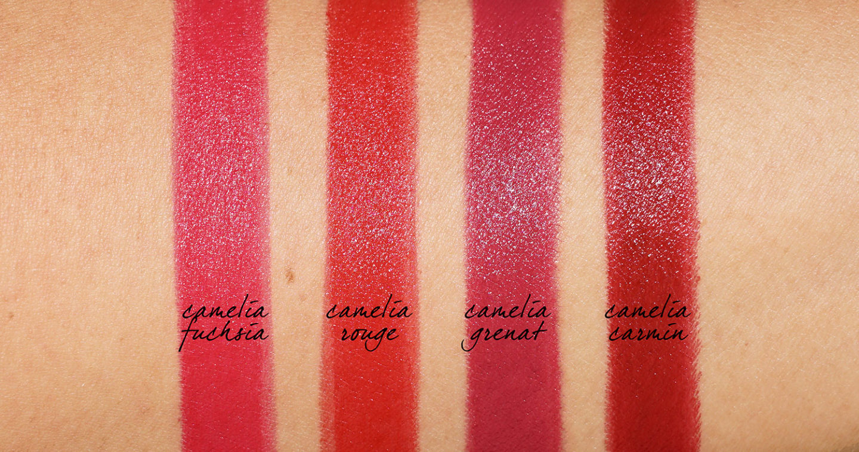 Échantillons Chanel Rouge Allure Camelia Velvet