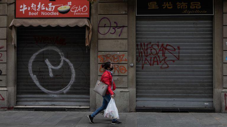 De nombreuses entreprises dans certaines régions du nord de l'Italie ont fermé leurs portes en raison d'un coronavirus