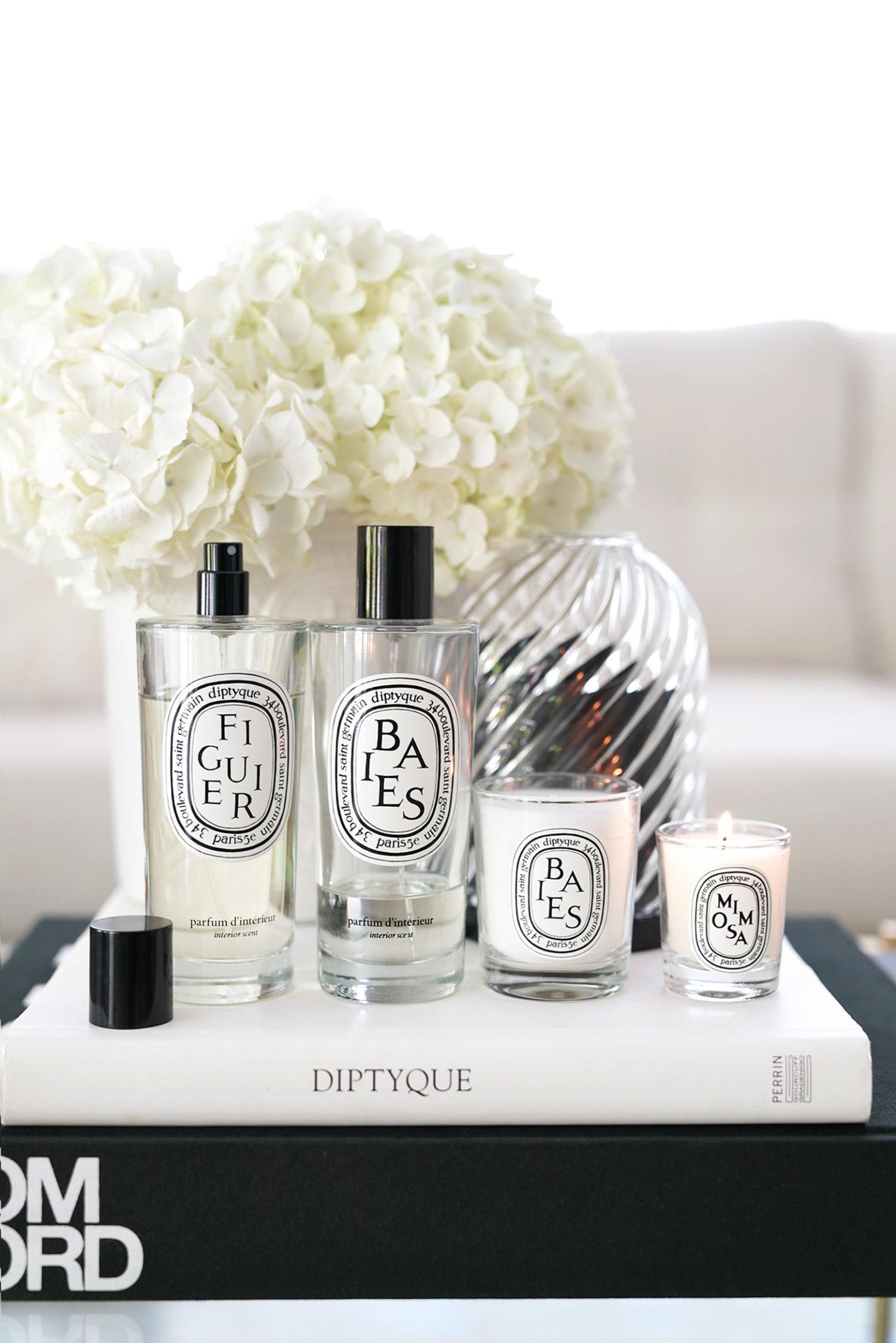Parfums et bougies Diptyque préférés