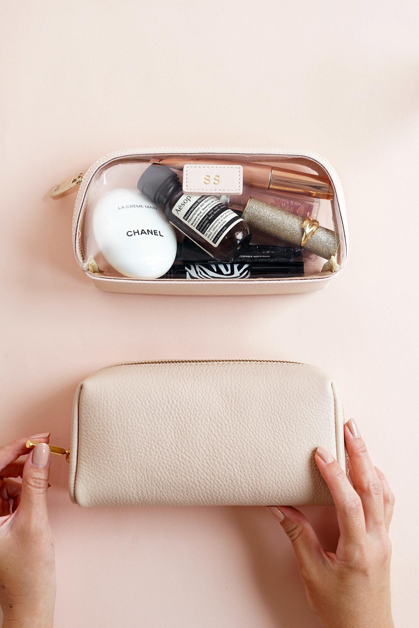 Sacs de maquillage chic édité quotidiennement et Cuyana