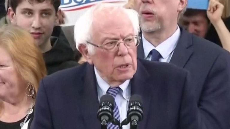 Bernie Sanders remporte la victoire dans le New Hampshire