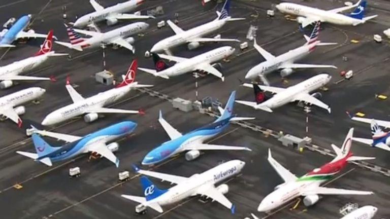 Les avions Boeing 737 MAX sont stockés à plusieurs endroits aux États-Unis