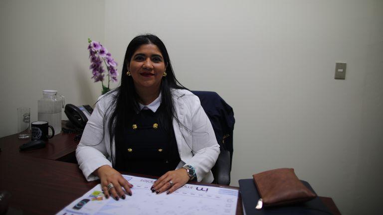 Graciela Sagastume, qui travaille dans le bureau du procureur de district d'El Salvador