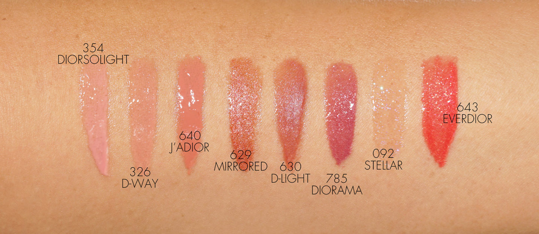 Échantillons Dior Addict Stellar Gloss