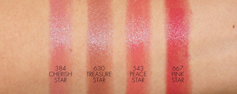 Échantillons de rouge à lèvres Dior Addict Stellar Halo Shine
