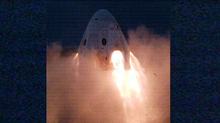 Le feu d'essai le plus récent de SpaceX sur son vaisseau spatial Crew Dragon a été un succès
