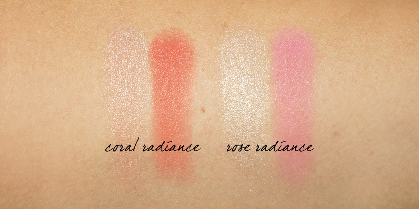 Nuancier Chantecaille Vibrant Oceans Radiance Chic Blush Highlighter Duo