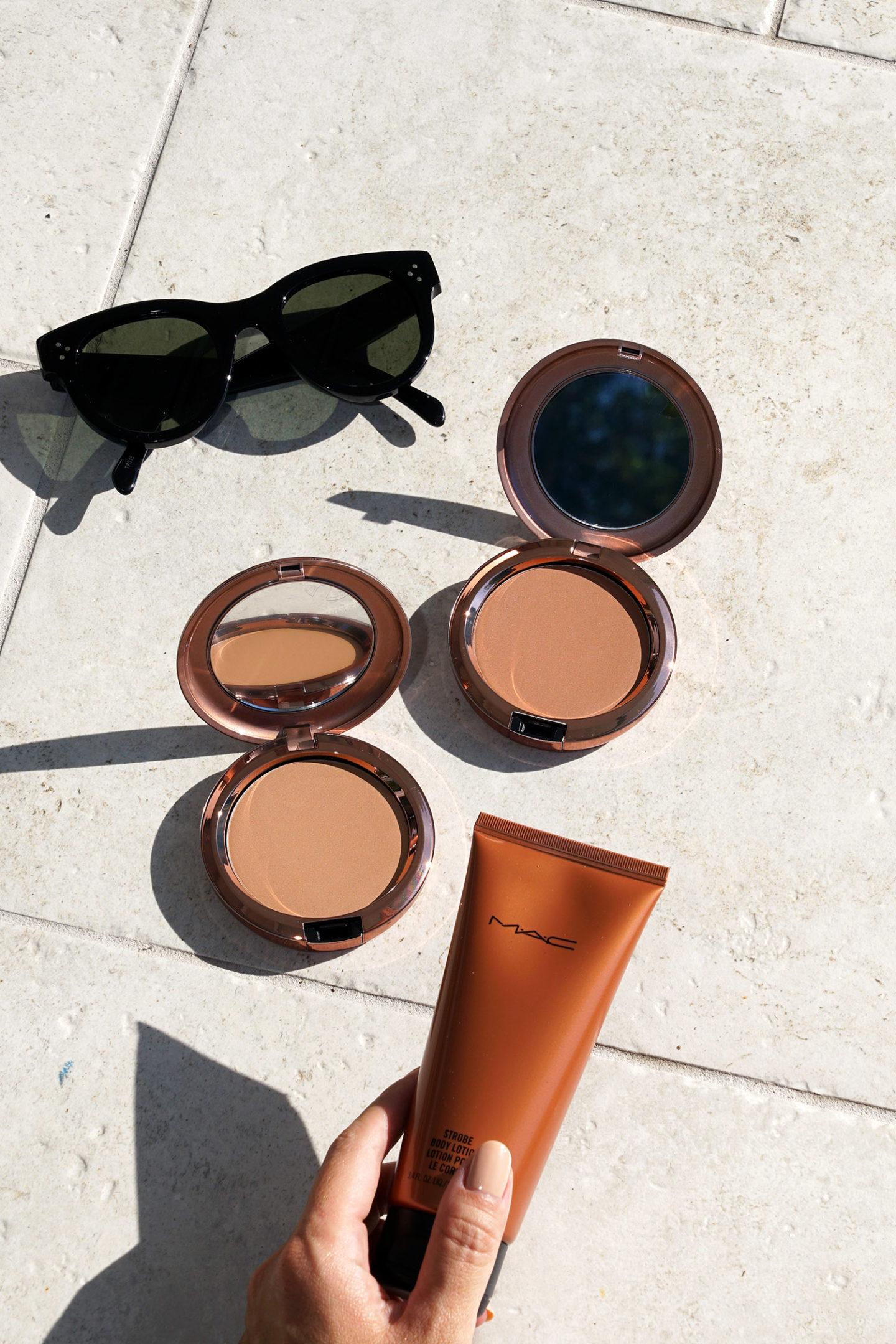 MAC Summer Bronzing Beiging Beauty, Totally Taupeless et Bronzelite