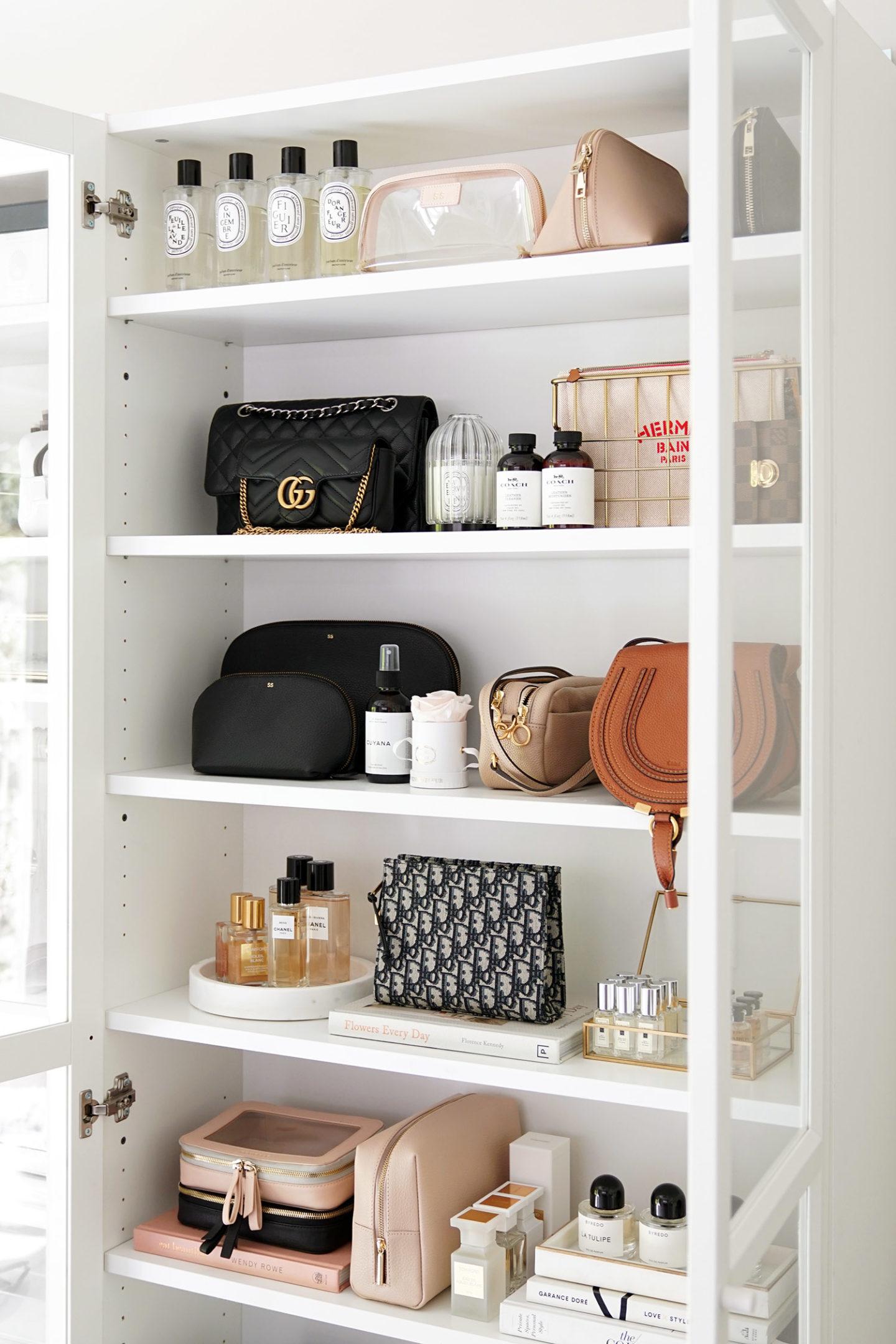 Meilleurs trousses de maquillage, bibliothèque Ikea Billy, édition quotidienne, Cuyana |  Le Look Book Beauté