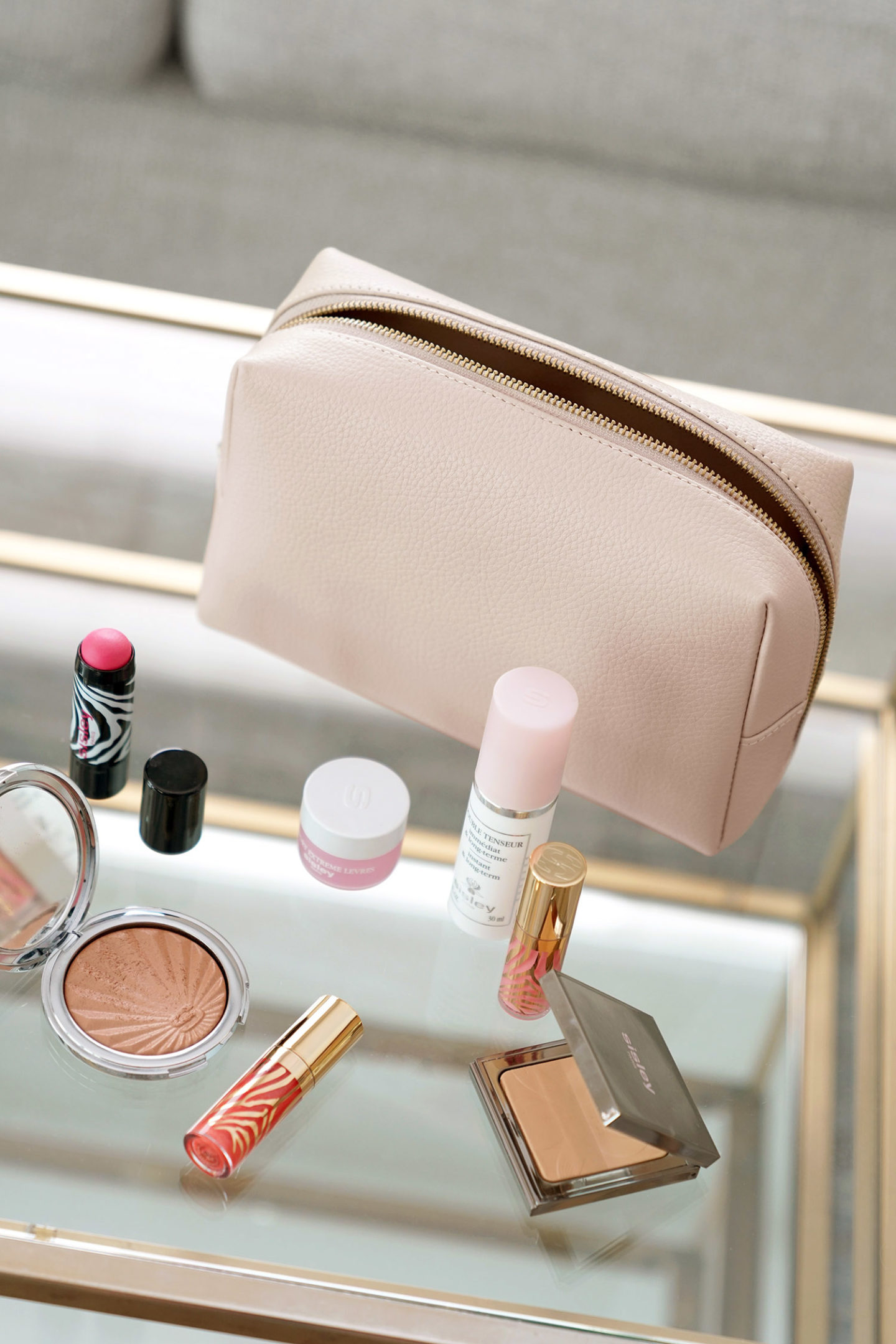 Cuyana Vanity Case Blush |  Le Look Book Beauté