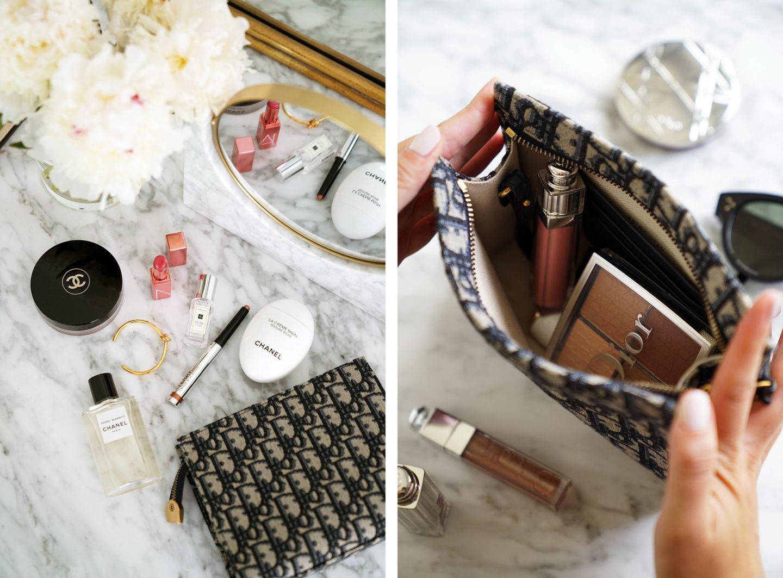 Pochette Dior Oblique Navy |  Le Look Book Beauté