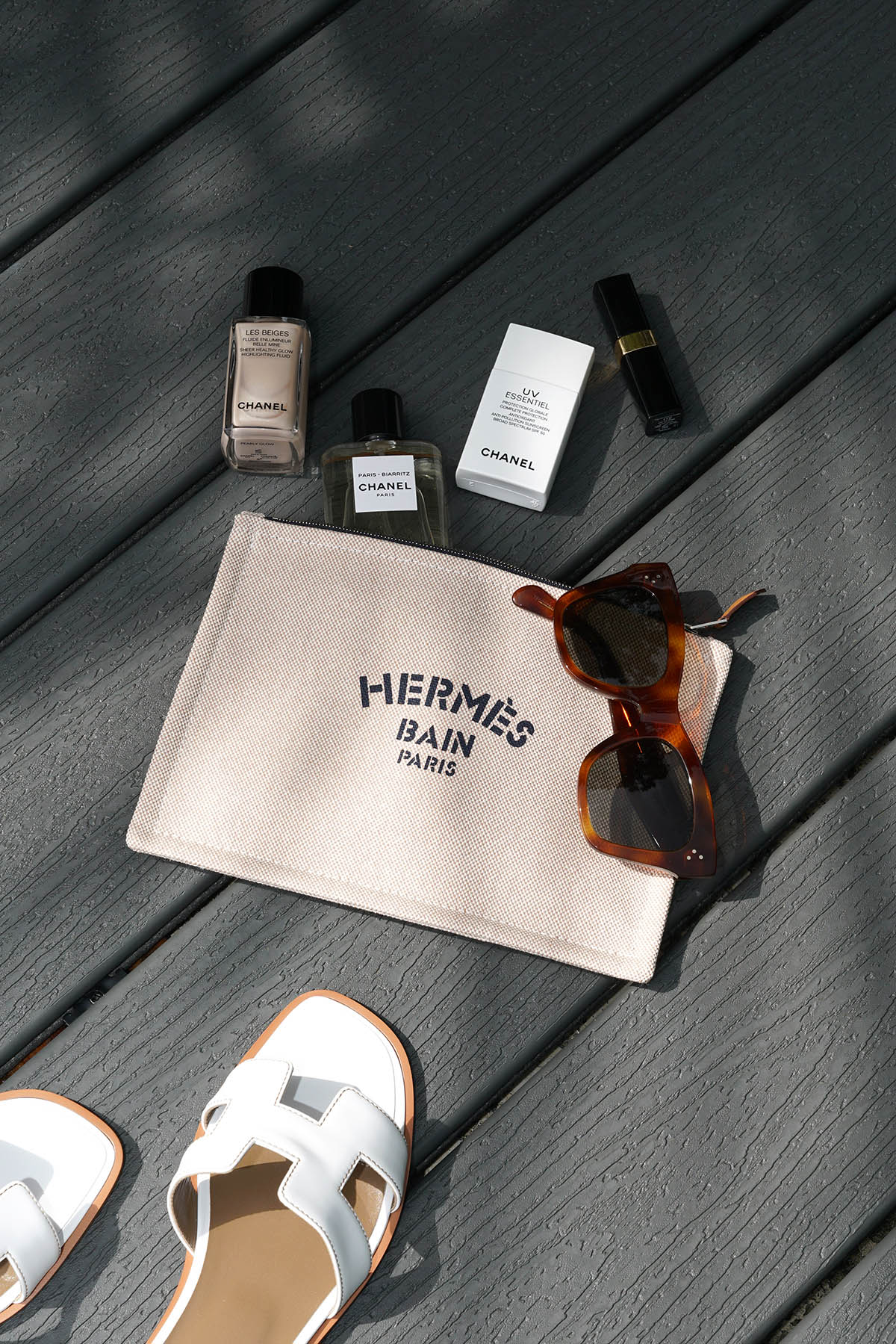 Valise Hermes Bain New Yachting, petit modèle