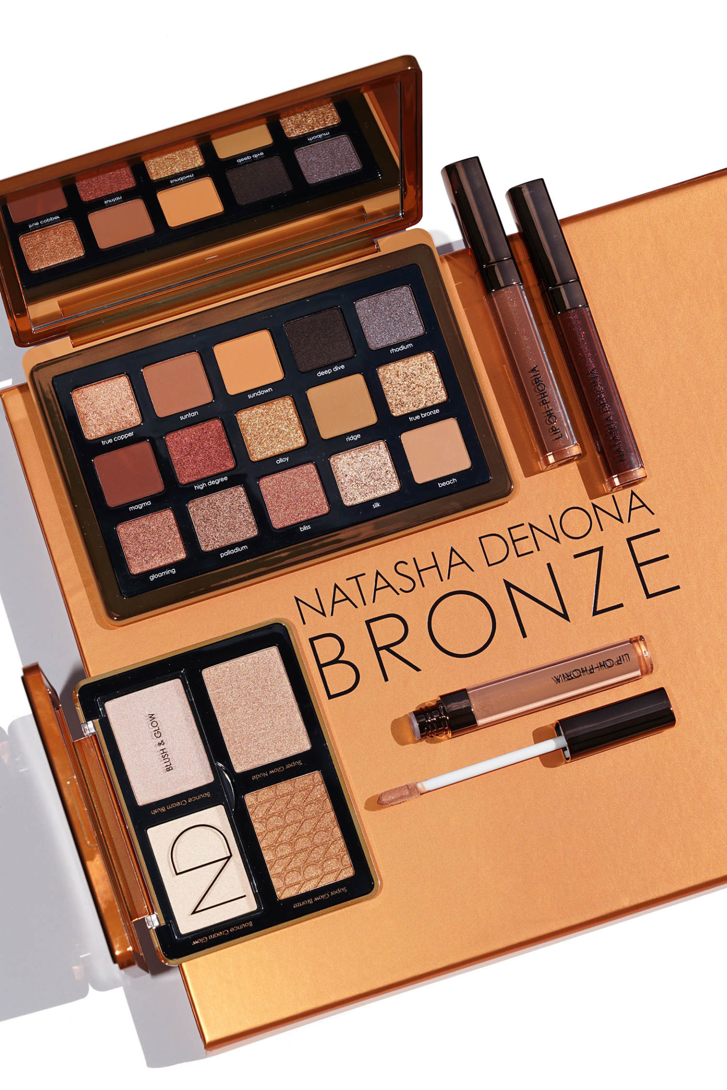 Examen de la collection Natasha Denona Bronze