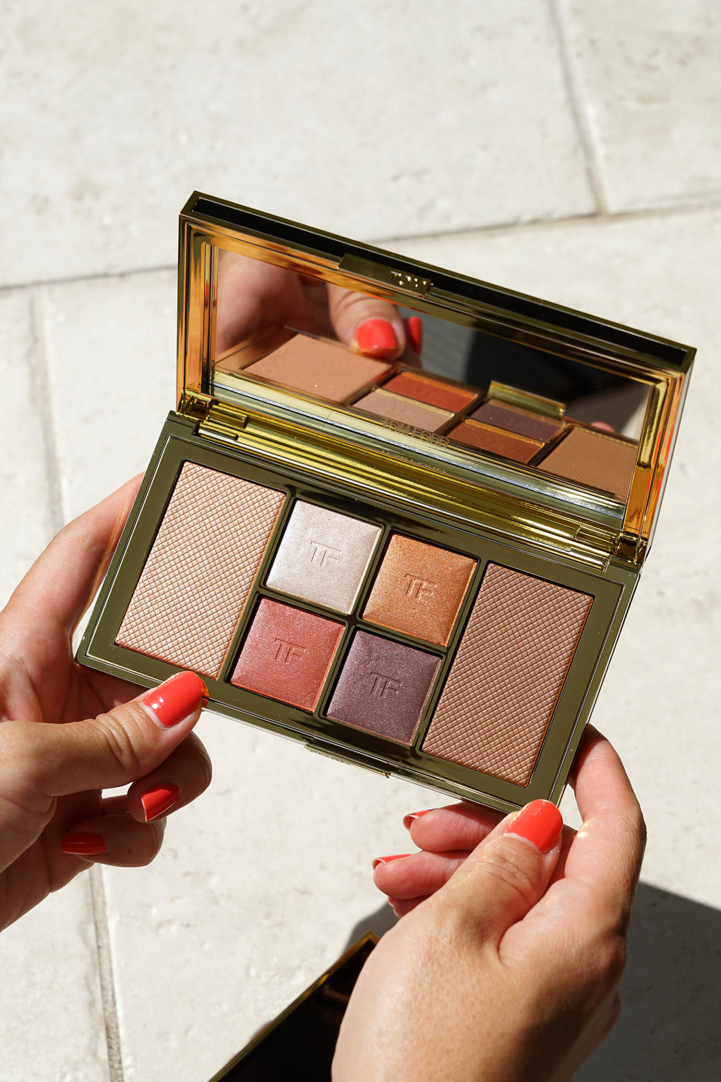 Tom Ford Shade Illuminate Face Eye Palette Red Harness