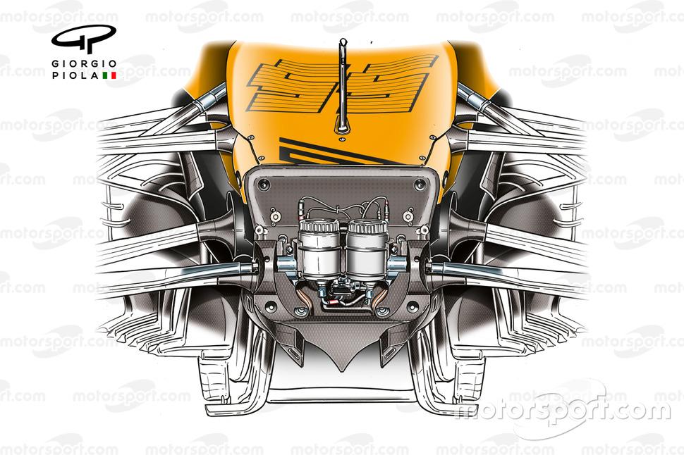 Châssis avant McLaren MCL35