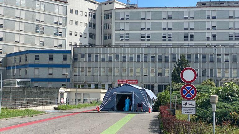 Hôpital de Crémone en Italie