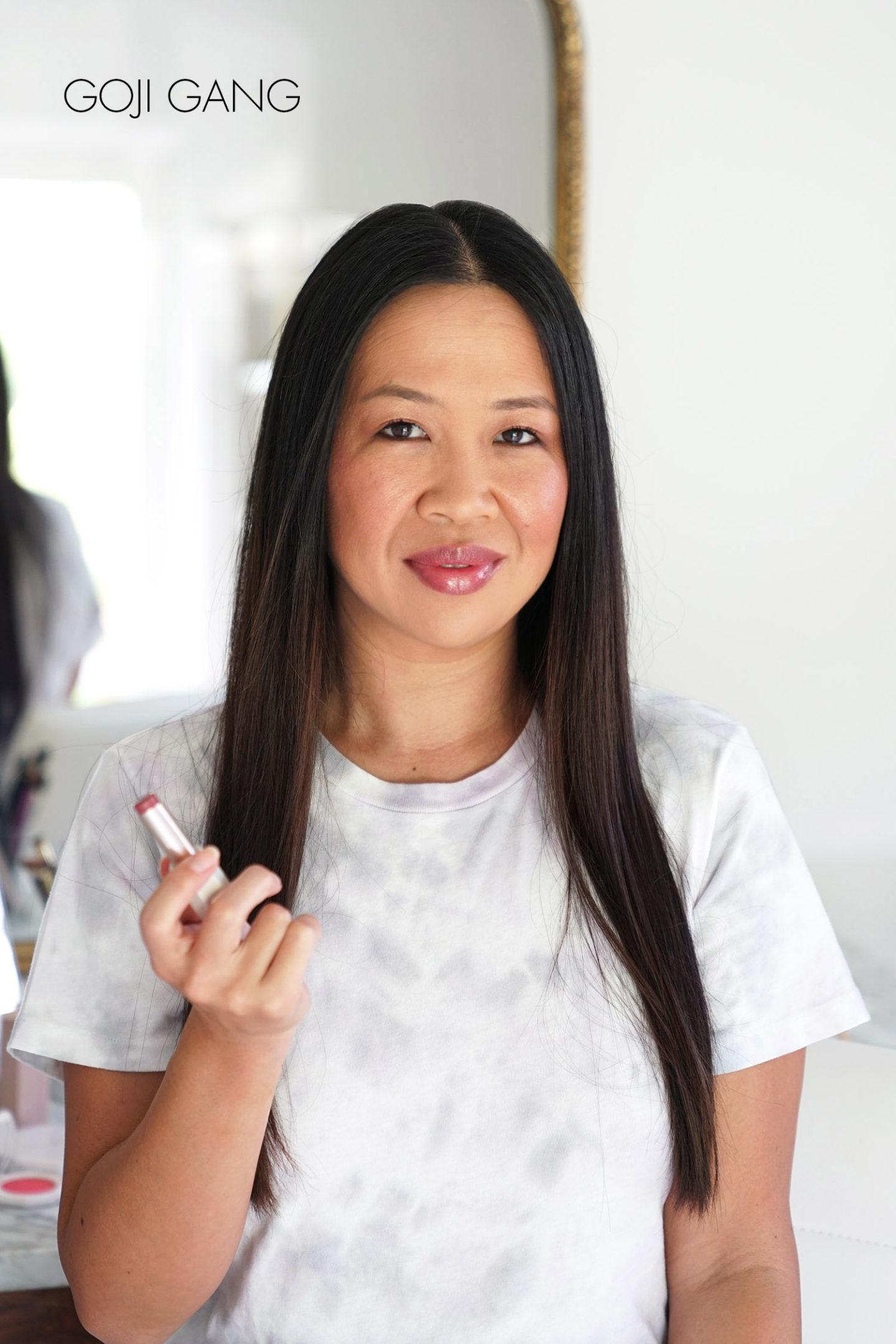 Fenty Slip Shine Sheer Shiny Lipstick Goji Gang