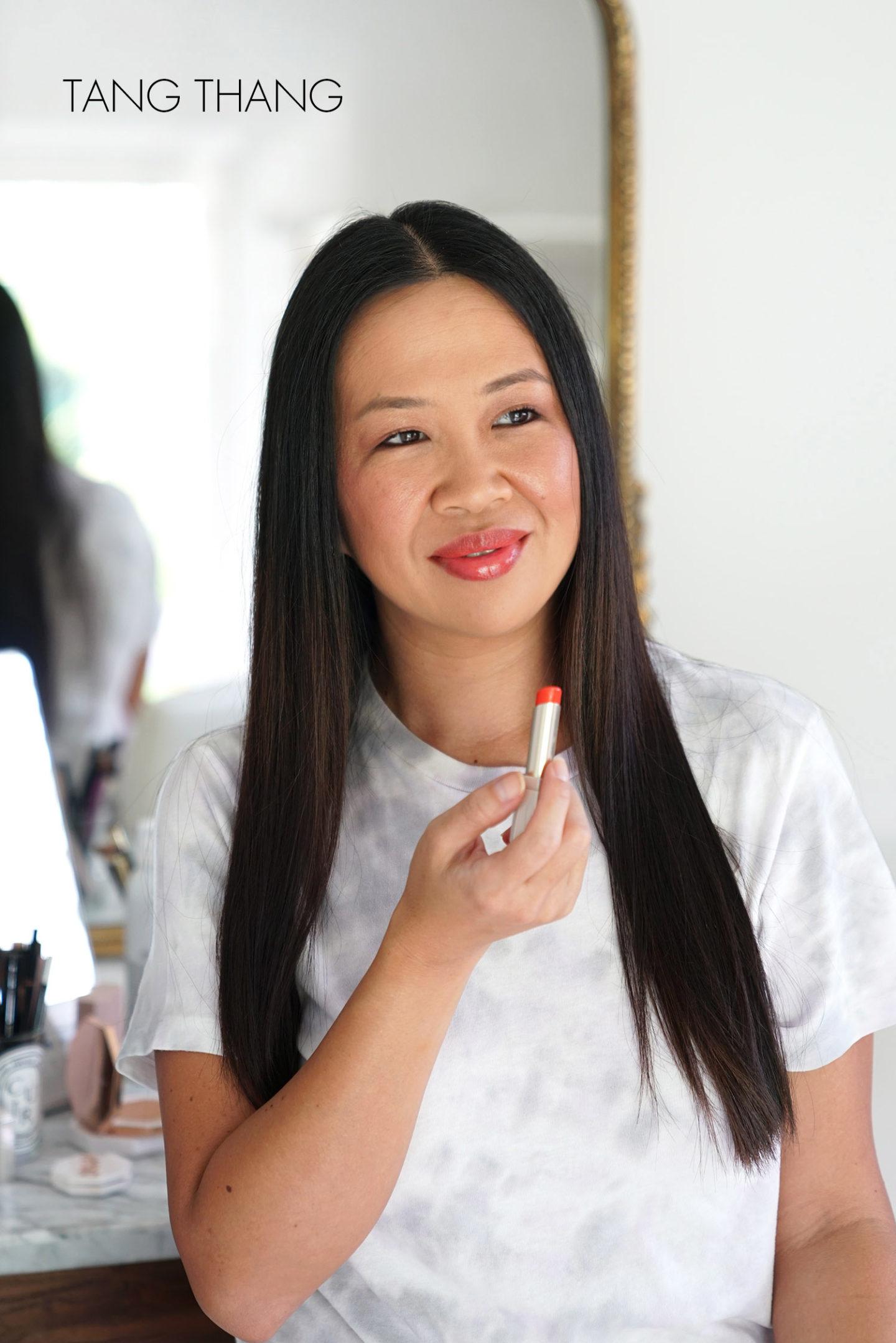Fenty Slip Shine Sheer Shiny Lipstick Tang Thang