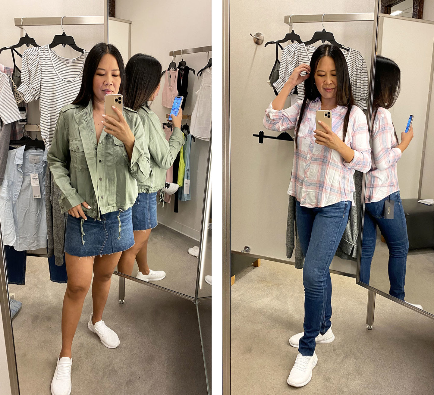 Nordstrom Sale Try on Rails