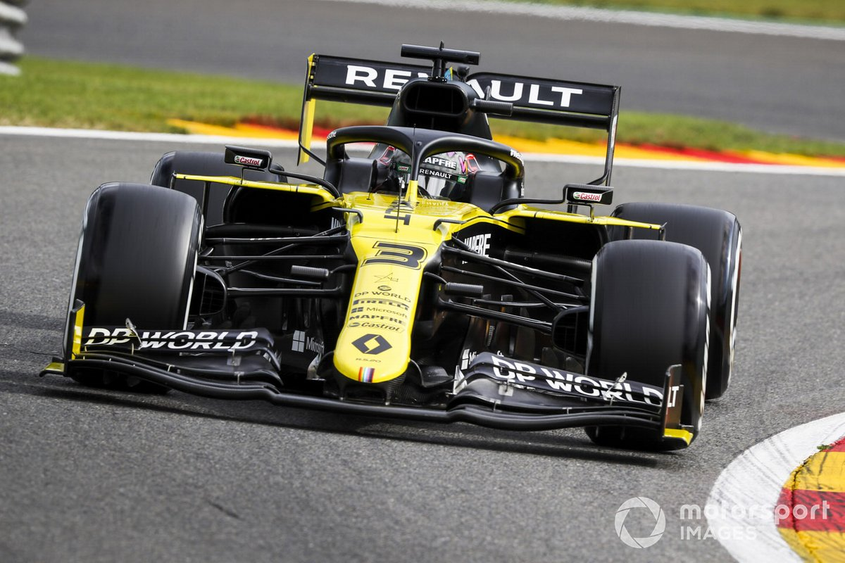 Daniel Ricciardo, Renault F1 Team RS20
