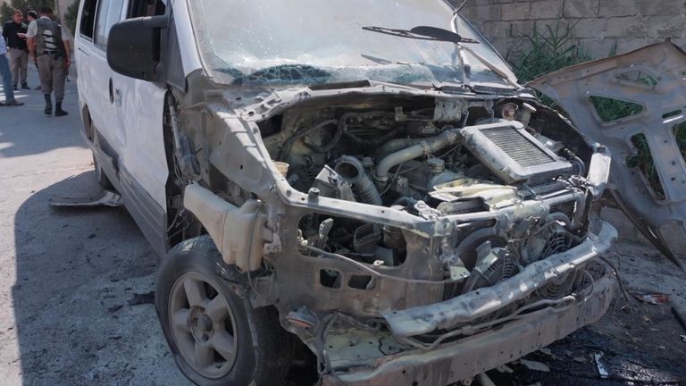 Les attaques se poursuivent dans la `` zone tampon '' de la Syrie