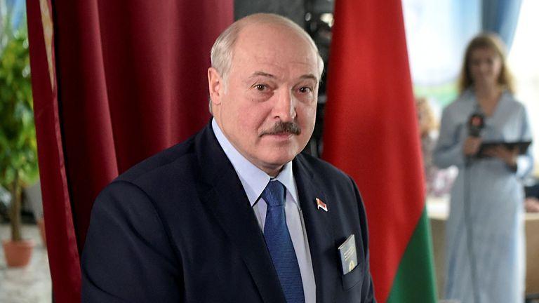 Le président biélorusse Alexander Lukashenko est au pouvoir depuis 25 ans