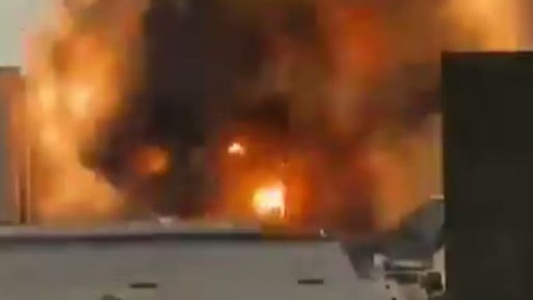 Une seconde explosion secoue Beyrouth, non loin de la première