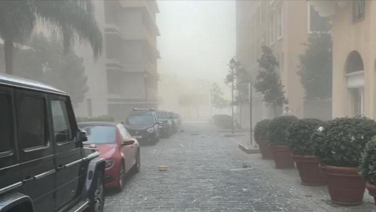 Une grande explosion a été entendue à Beyrouth, au Liban