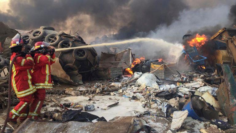 L'explosion s'est produite dans la zone portuaire de la ville