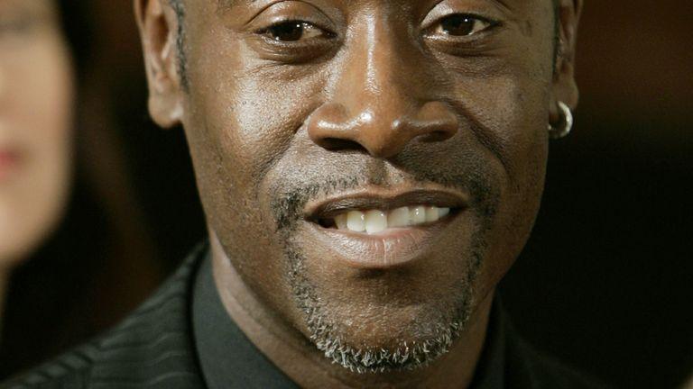 L'acteur américain Don Cheadle a joué Paul Rusesabagina dans le film de 2004
