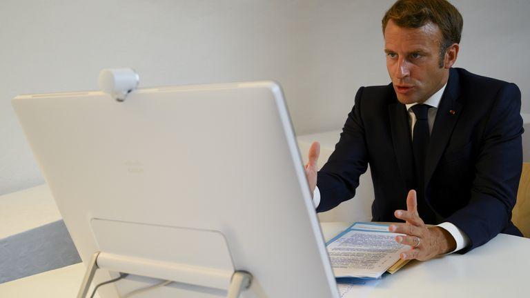 Emmanuel Macron a co-organisé une conférence internationale pour sécuriser l'aide au Liban