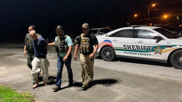 Mark Wilson a été arrêté en Floride pour le meurtre des frères Tayten et Robert Baker.  DOIT CRÉDIT: Facebook / Gator DeLoach, shérif du comté de Putnam
