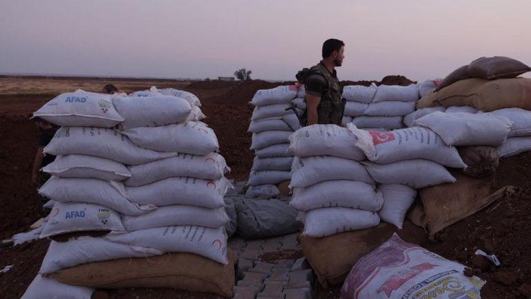 La division Al Hamza est l'unité d'élite des forces d'opposition