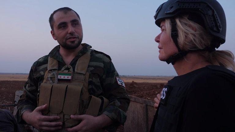 La division Al Hamza est l'unité d'élite des forces d'opposition syriennes
