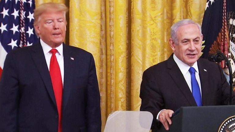 Trump salue l'accord entre les Émirats arabes unis et Israël