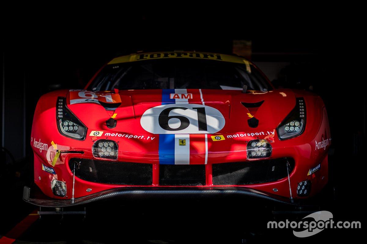 # 61 Luzich Racing - Ferrari 488 GTE Evo: Francesco Piovanetti, Oswaldo Negri, Come Ledogar