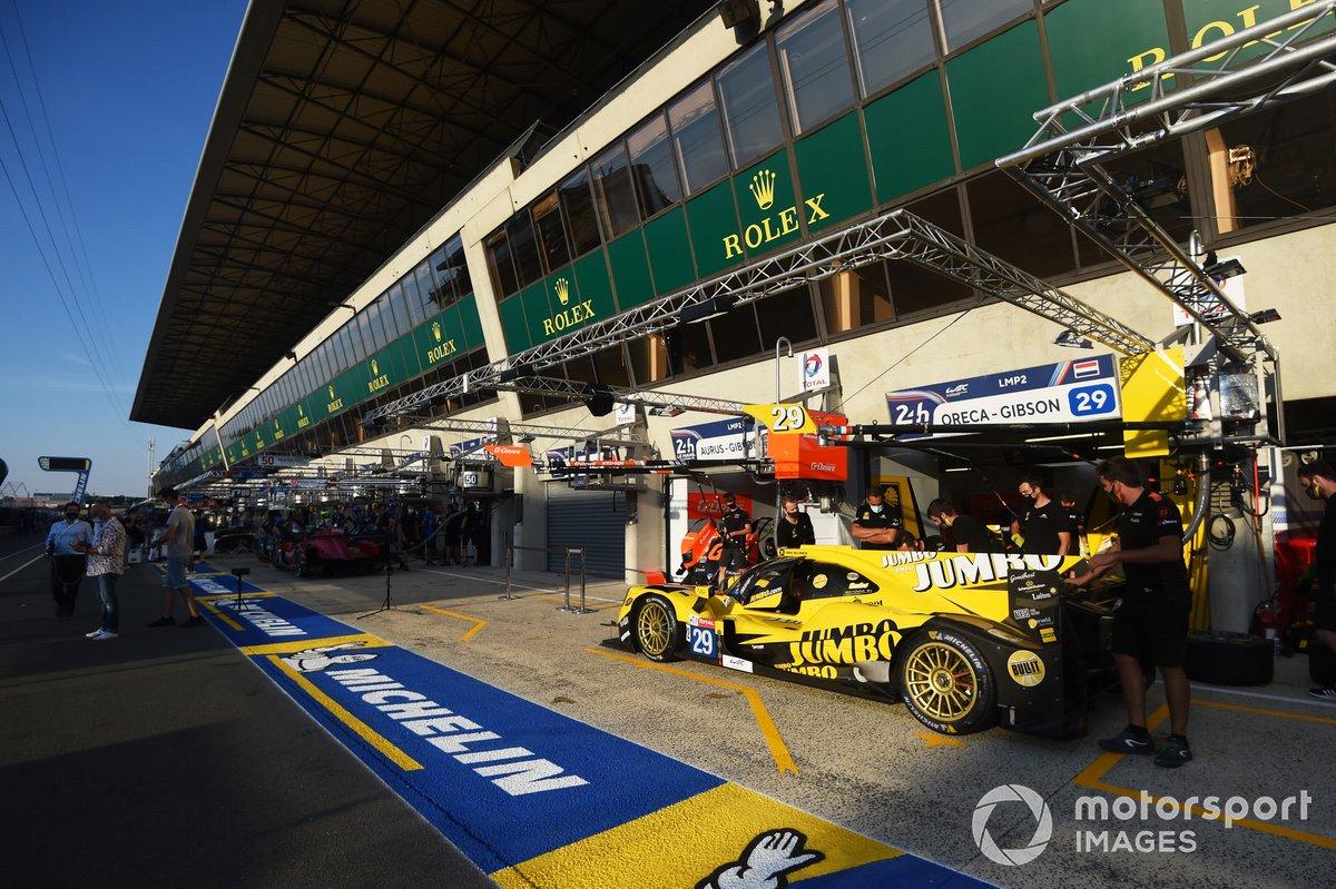 # 29 Racing Team Nederland Dallara P217: Frits Van Eerd, Giedo Van Der Garde, Nyck De Vries