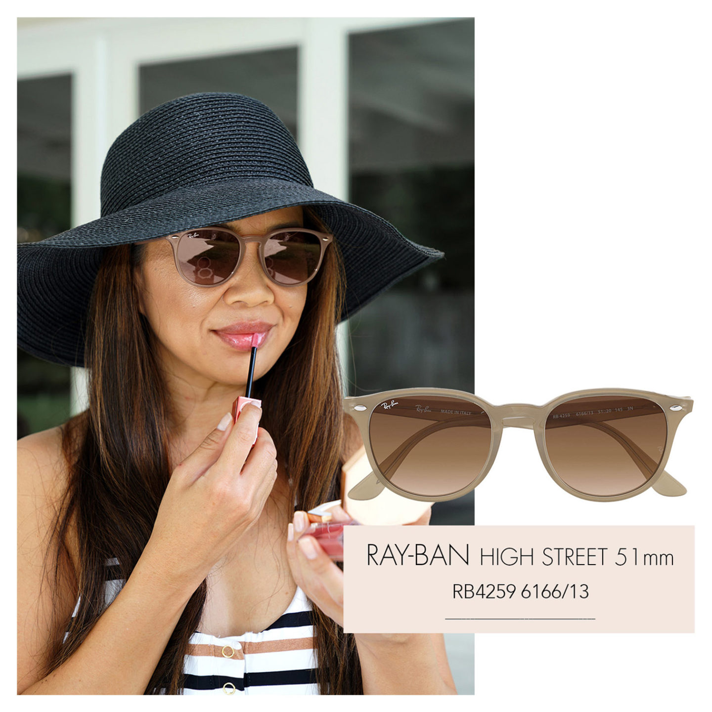 Ray-Ban High Street RB4259 Beige Marron