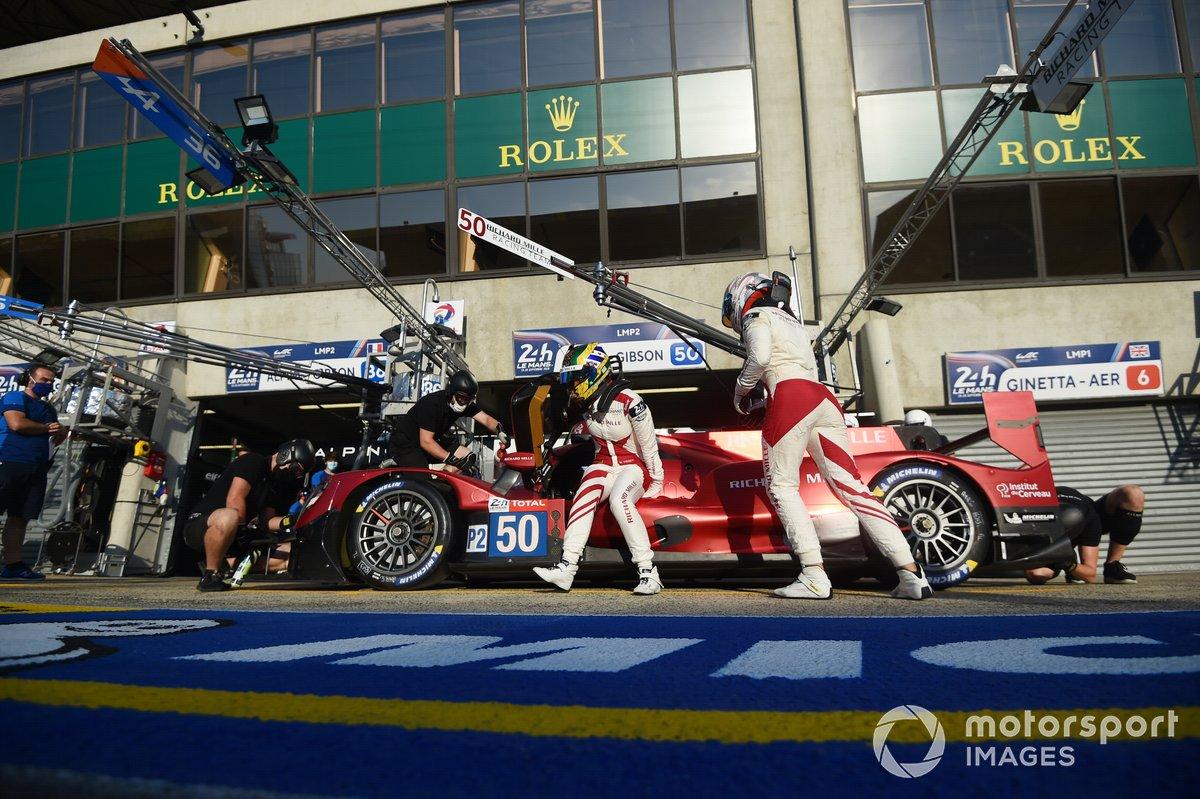 # 50 Richard Mille Racing Team Oreca 07 - Gibson: Tatiana Calderon, Sophia Flörsch, Beitske Visser