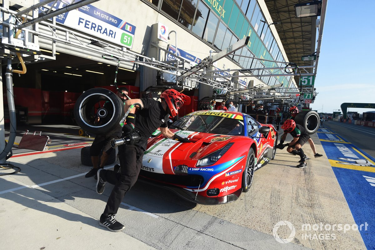 # 51 AF Corse Ferrari 488 GTE EVO: Alessandro Pier Guidi, James Calado, Daniel Serra