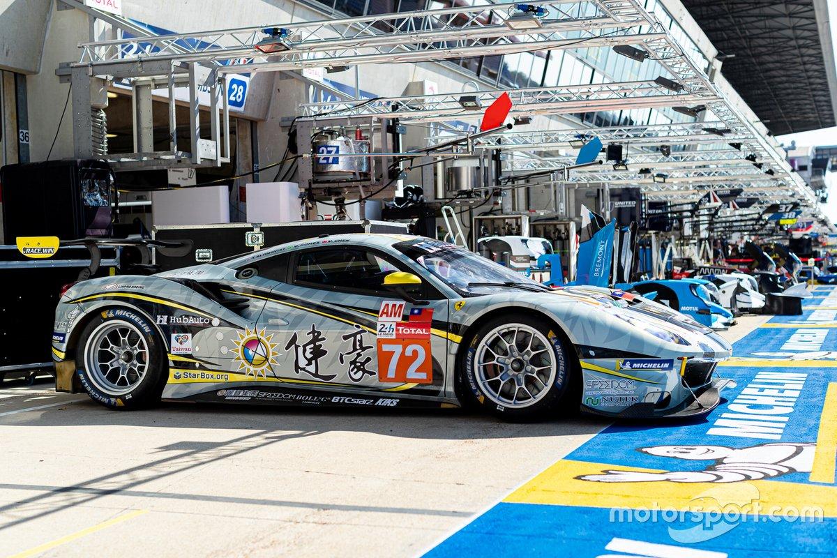 # 72 Hub Auto Racing - Ferrari 488 GTE Evo: Morris Chen, Tom Blomqvist, Marcos Gomes