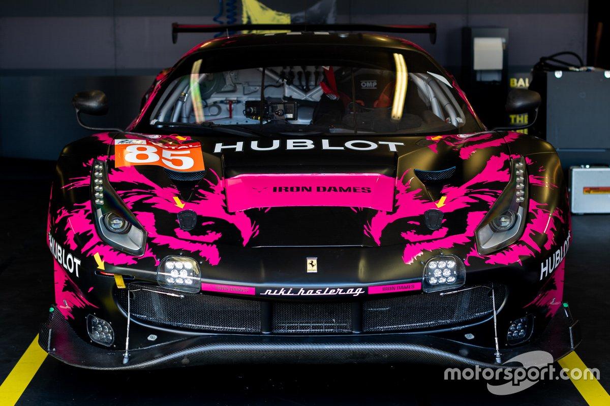 # 85 Iron Lynx - Ferrari 488 GTE Evo: Manuela Gostner, Rahel Frey, Michelle Gatting