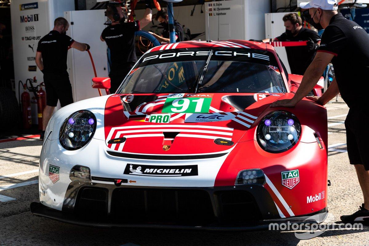 # 91 Porsche GT Team - Porsche 911 RSR - 19: Richard Lietz, Gianmaria Bruni, Frédéric Makowiecki