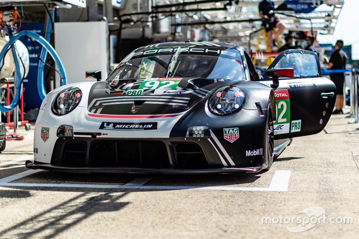 # 92 Porsche GT Team - Porsche 911 RSR - 19: Michael Christensen, Kevin Estre, Laurens Vanthoor