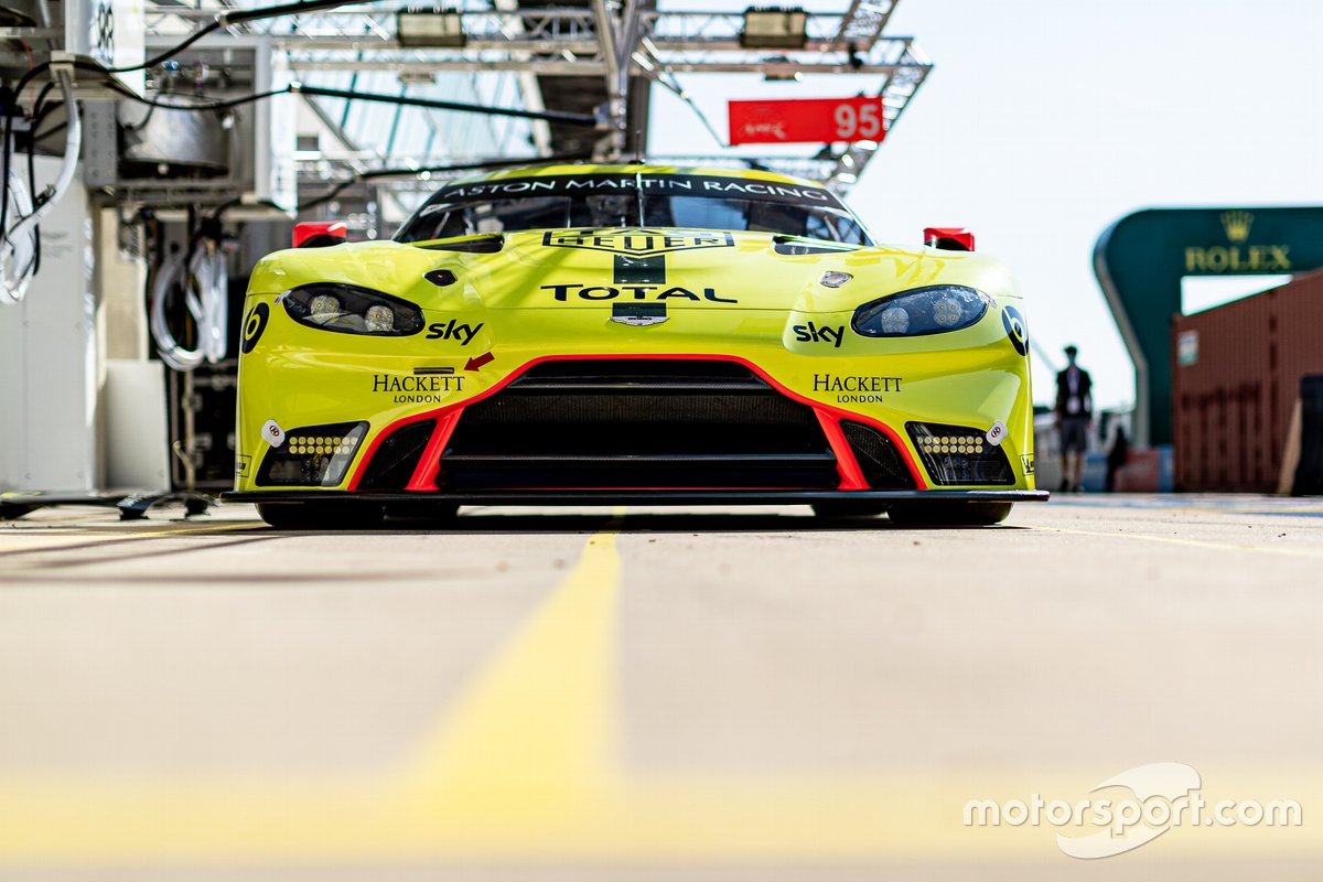 # 97 Aston Martin Racing - Aston Martin Vantage AMR: Alex Lynn, Maxime Martin, Harry Tincknell