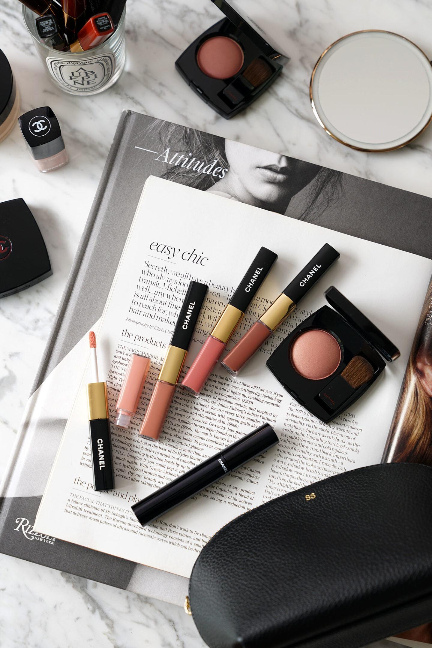 Nouveau Chanel Le Rouge Duo Ultra Tenue Gloss et Joues Contraste Powder Blushes
