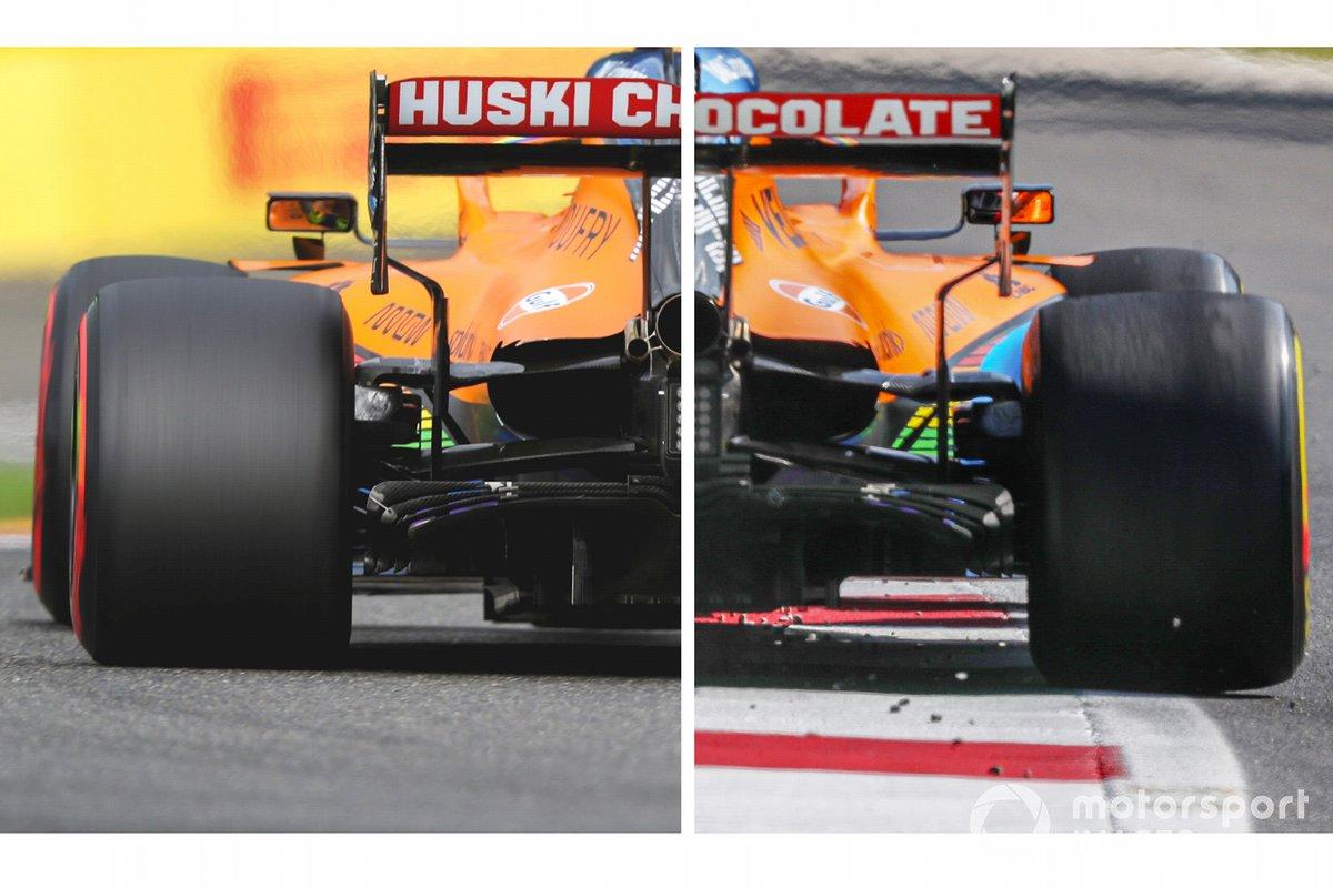 McLaren MCL35 arrière