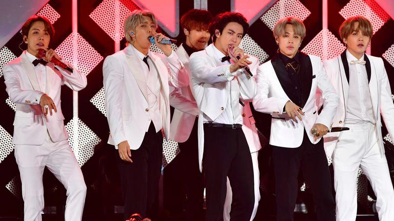 Groupe de K-pop BTS