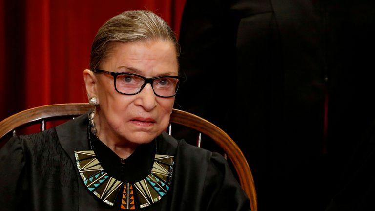 C'était le dernier souhait du juge Ginsburg de ne pas être remplacé jusqu'à ce qu'un nouveau président soit au pouvoir